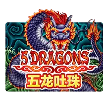 slotxo เกม Five Dragons